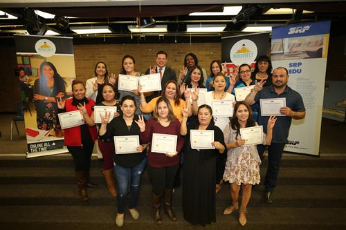 Davis Parents Graduate From American Dream Academy