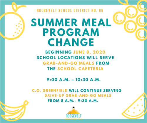 meal program changes graphic