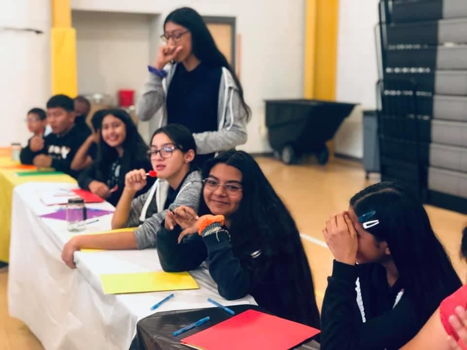 Students during Anti-Bullying Epic Prevention Extravaganza