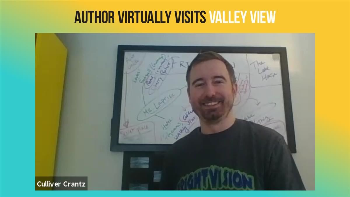 Author virtually visits Valley View
