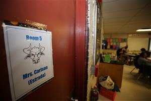 Mrs. Carlson's classroom