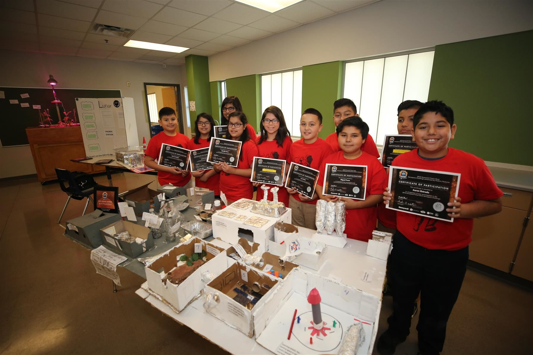 T-Birds Take Home Accolades at Aerospace Challenge