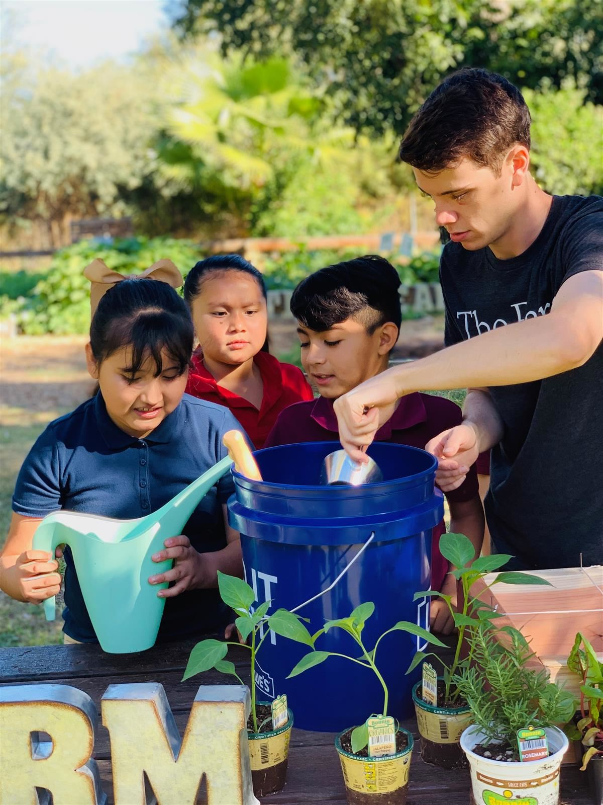 Martin Luther King Jr. School Students Featured Highlighting the Educational Partnership with The Farm at South Mountain