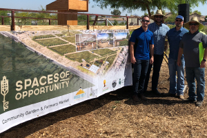 Groundbreaking Ceremony for Spaces of Opportunity