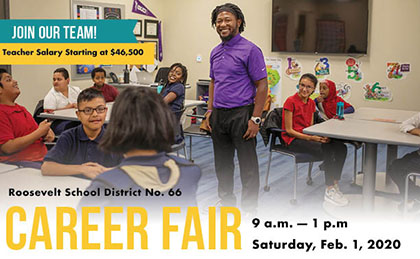 Flyer for RSD Career Fair
