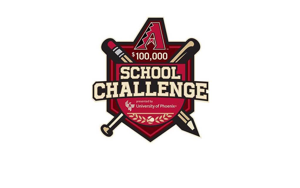 The logo for the Arizona Diamondbacks School Challenge